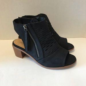 Torrid Peep Toe Block Heel Shoes